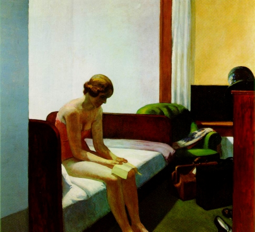 hopper,hotel room