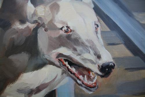 chiens n°3,détail