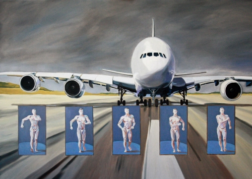 peinture,taxiway,flying,wings,tarmac,