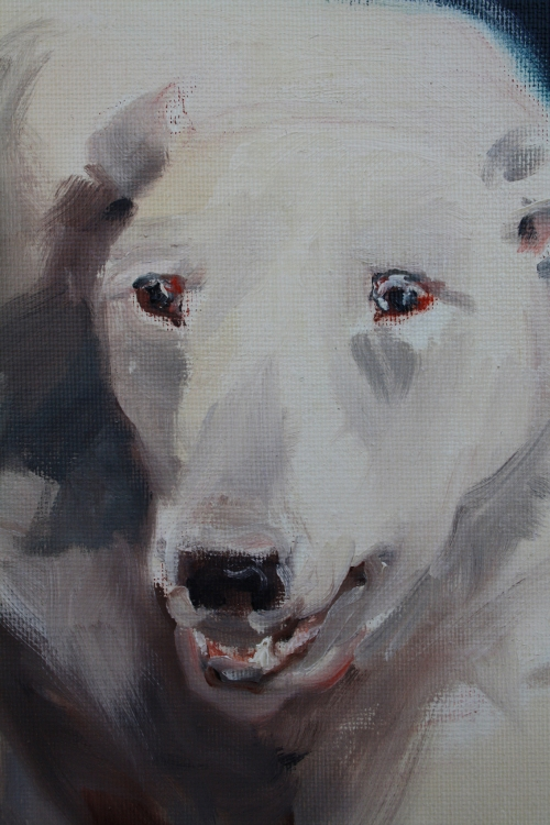 chiens n°5,détail