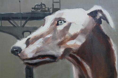 chiens n°6,détail