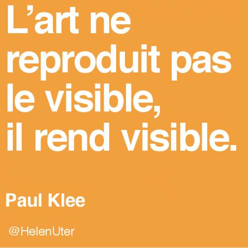 citations d'artistes,klee