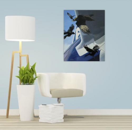 view in a room,singular,air