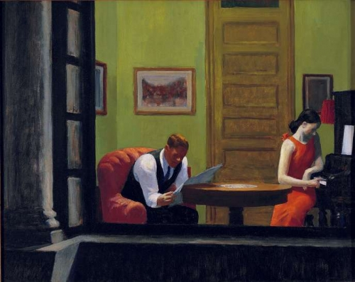 hopper,room in new york