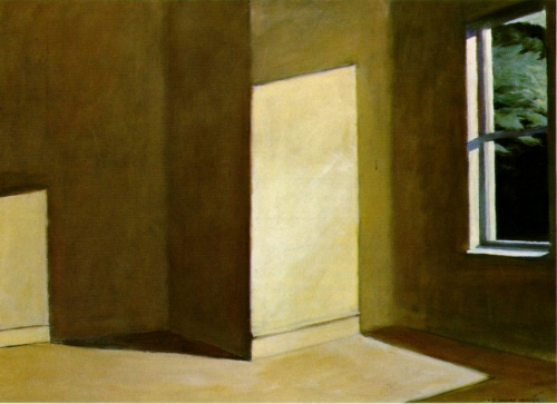 hopper sun empty room