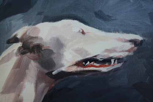 chiens n°1,détail