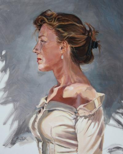 portraits, autoportrait,helen uter